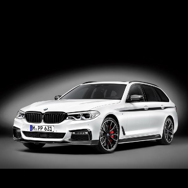 BMW M Performance Poles Seri 5 Toure Lebih Bertenaga