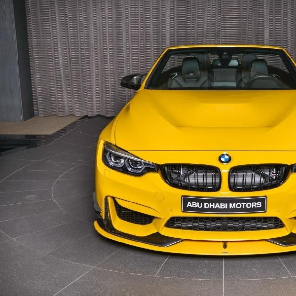 BMW M4 Cabrio Speed Yellow Hadir Lebih Menggoda