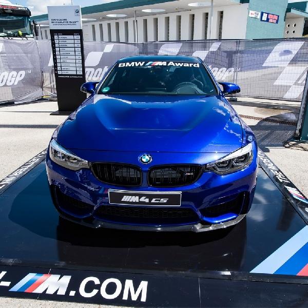 BMW M4 CS - Hadiah untuk Pebalap MotoGP Tercepat