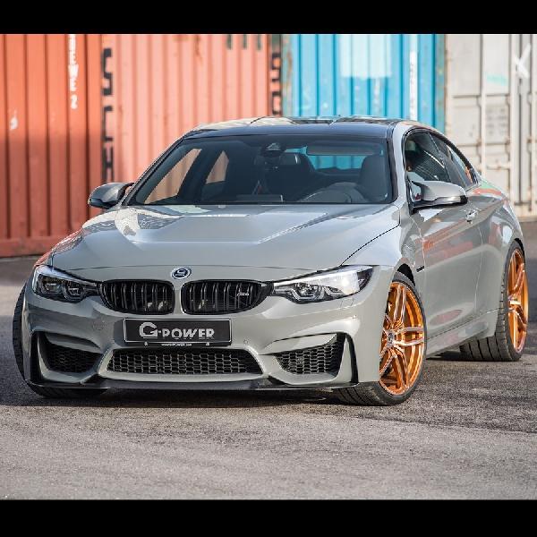 BMW M4 Sentuhan G-Power Ini Bisa Melesat 320 km/jam