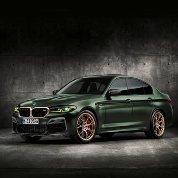 BMW M5 CS 2022 Raih Predikat 'Produksi Tercepat dan Terkuat'