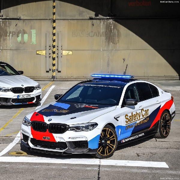 BMW Kenalkan M5 MotoGP Safety Car Baru