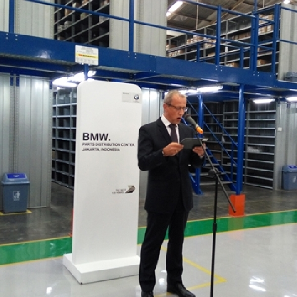 BMW Indonesia Resmikan Parts Distribution Center