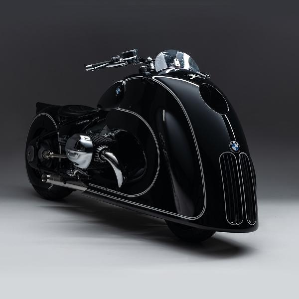 BMW R18 Garapan Kingston Custom Tersemat Sentuhan Art Deco Meisterwerk