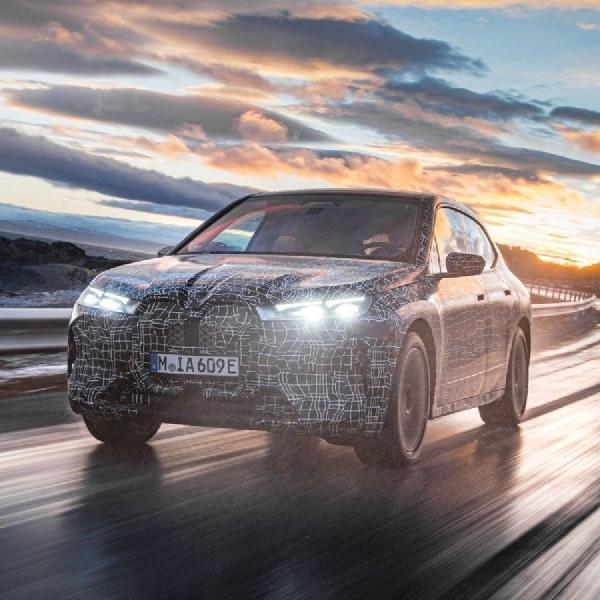 BMW Selesaikan Uji Akhir BMW iX di Lingkaran Arktik