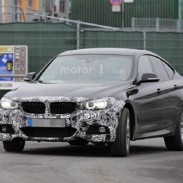 BMW Seri 3 Facelift Terbidik Kamera Sedang di Uji