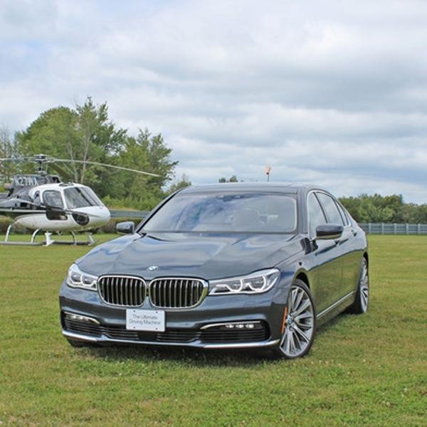 BMW Seri 7 Dibekali Mesin Buas di Cina?