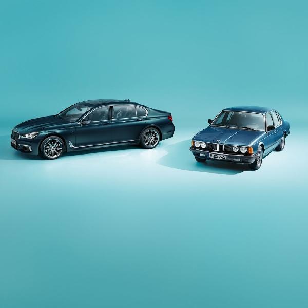 Edisi Annversary ke-40 BMW Seri 7 Jahre Diproduksi 200 Unit