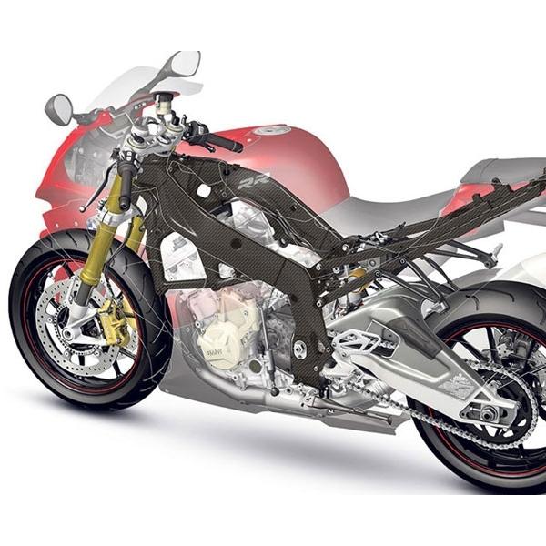 BMW Terapkan Serat Karbon Pada Rangka Sepeda Motor