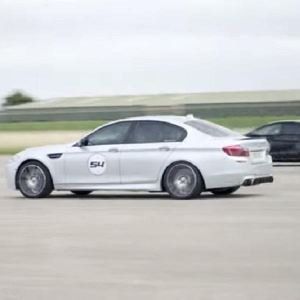 Tuning Tipis-tipis Evolve Automotive Bikin BMW M5 ini Mudah Tembus 334 Kpj