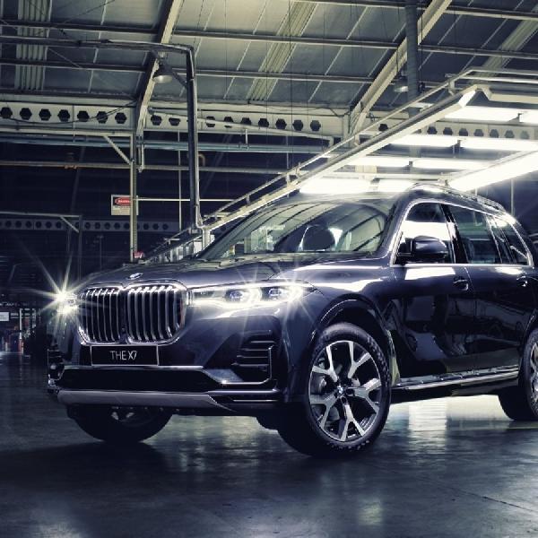 Tambah Varian CKD, BMW Luncurkan BMW X7 xDrive40i Opulence