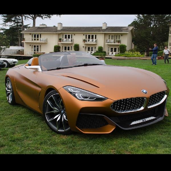BMW Z4 2018 Bakal Diperkenalkan di Monterey Car Week