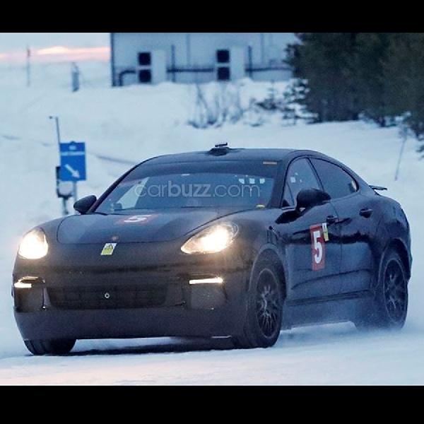 Bocor - Porsche Sedang Lakukan Pengujian SUV Cayenne