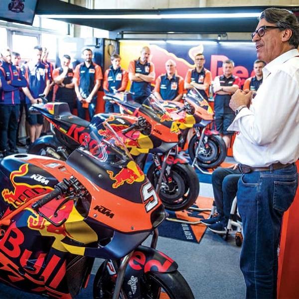 Bos KTM Targetkan Gelar Juara MotoGP 2021