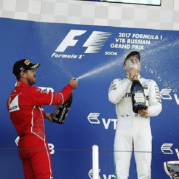 F1: Bottas Raih Podium Perdana di GP Rusia