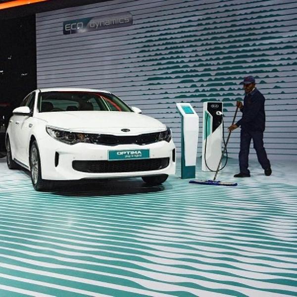 KIA Akan Memperkenalkan Konsep Mobil Listrik di GIMS