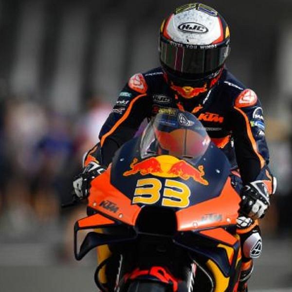 MotoGP: Brad Binder Akui Sempat Takut Bertaruh Ban di MotoGP Doha