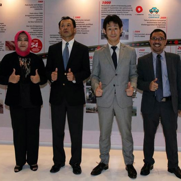 Bridgestone Lakukan Kampanye Tire Safety di GIIAS 2016