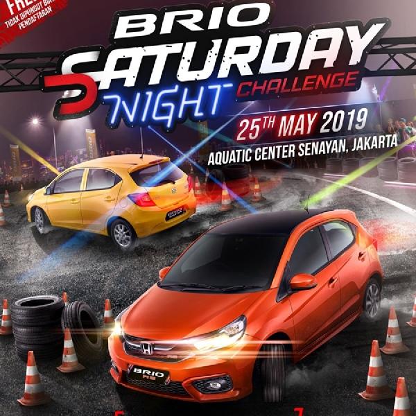 Honda Kembali Gelar Lomba Slalom Brio Saturday Night Challenge