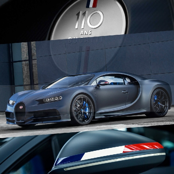 Chiron 110 Ans Meluncur di Ulang Tahun Bugatti