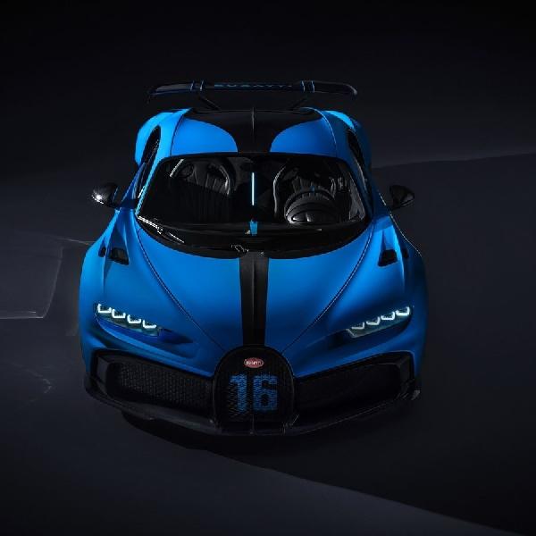 Bugatti Chiron Menghemat Bahan Bakar untuk Pur Sport