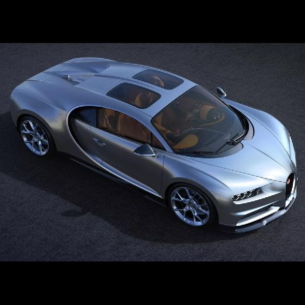 Bugatti Chiron Gunakan Sky View Tampak Lebih Mewah