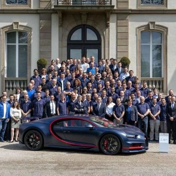 Bugatti Chiron Ke-100 Ekslusif untuk Orang Kaya Timur Tengah