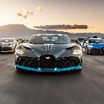 Bugatti Divos Senilai 18 Juta Dolar Berkumpul di California Sebelum Dikirim ke Pemiliknya