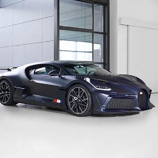 Bugatti Divo Edisi Matte Blue Hanya Diproduksi 40 Unit
