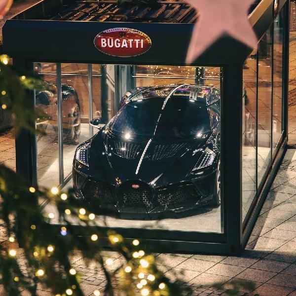 Bugatti La Voiture Noire, Dekorasi Natal Termahal Di Dunia Seharga Rp190 Triliun