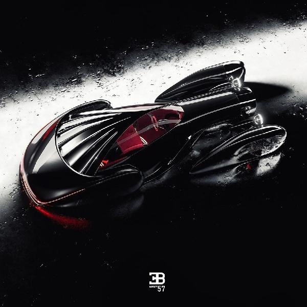 Bugatti Next-57, Mobil Retro-Futuristik yang Memukau