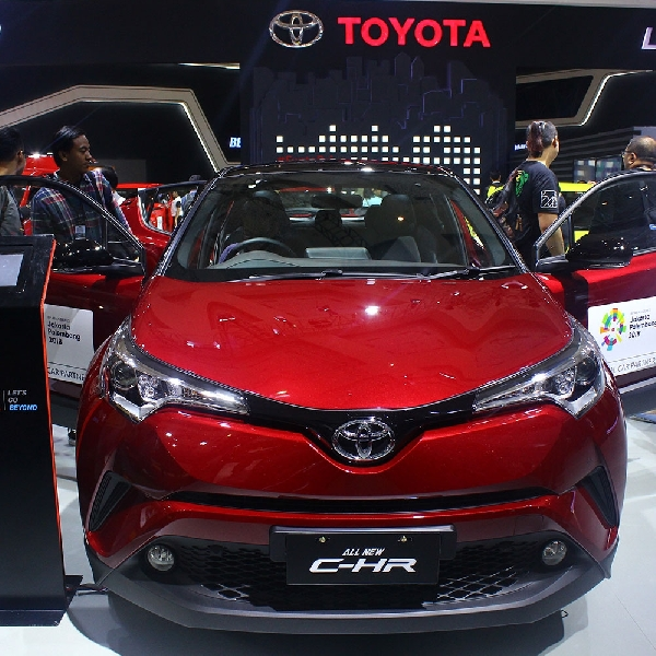 Toyota C-HR Mampu Memukau Pengunjung IIMS