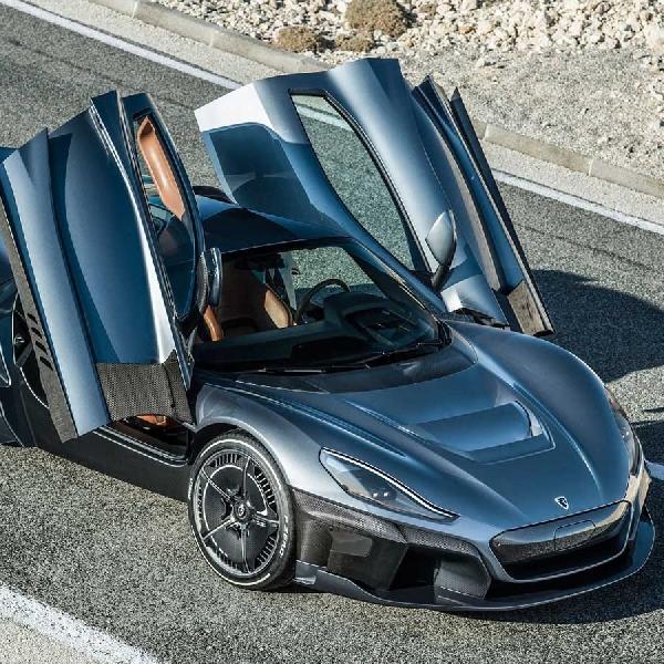 'C-Two' Rimac Automobili, Mobil Listrik Berpesifikasi Tinggi