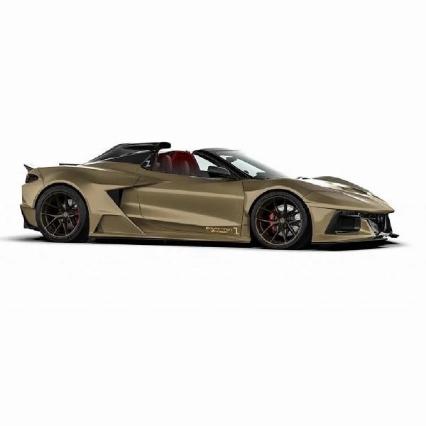 Bodykit Corvette C8 Carbon Competition, Bisa Jadi yang Tergahar