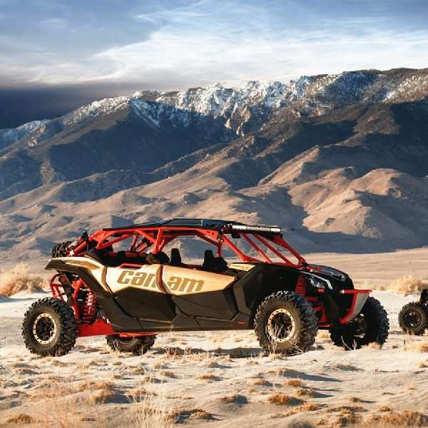 Lengkapi Gaya Off-Road, Can-Am Luncurkan 3 varian Maverick X3 Max
