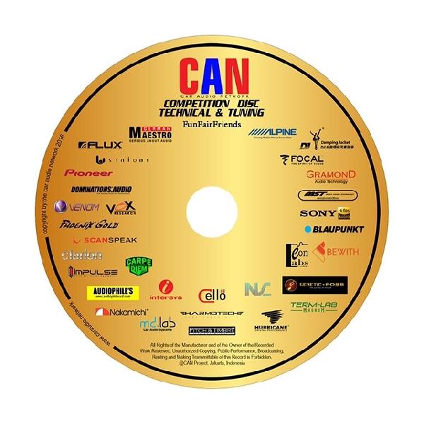 CAN Resmi Luncurkan CD Kontes Audio