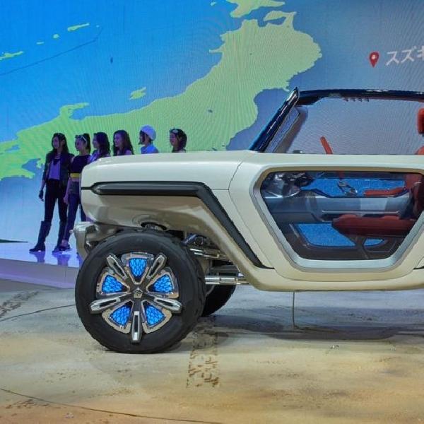 Suzuki Sodorkan e-Survivor, Mobil Petarung nan Futuristik 4WD