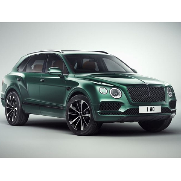 Modifikasi SUV Bentley Bentayga Beraroma Kental British Racing Green