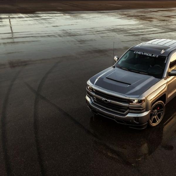 Chevy Tawarkan Konsep Pickup Truck Sport Berkekuatan 450 Hp