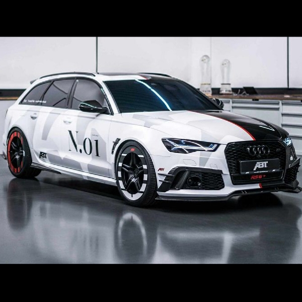 Modifikasi Audi RS 6 Wagon, Project Phoenix Milik John Olsson