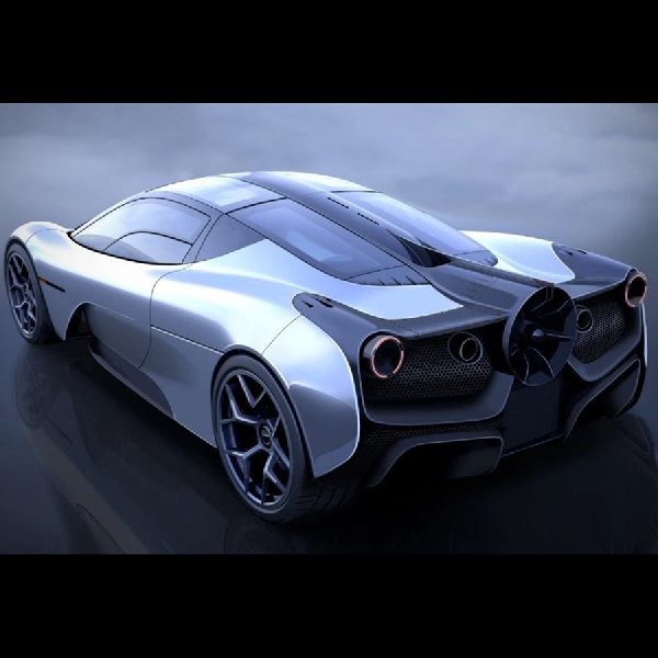 T 50 Supercar Paling Ringan dan Bertenaga Karya Gordon  Murray Automotive