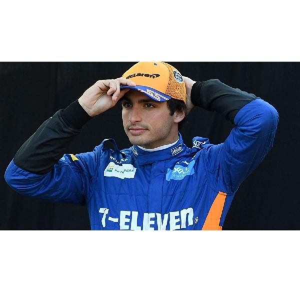 F1: Kontrak Baru di McLaren Membuat Carlos Sainz Lebih Tenang