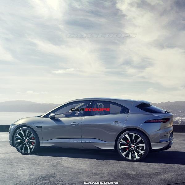 Wujud Jaguar I-Pace dalam Bentuk Produksi Masal