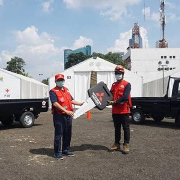 PT MMKSI Donasikan Dua Tipe Kendaraan untuk PMI