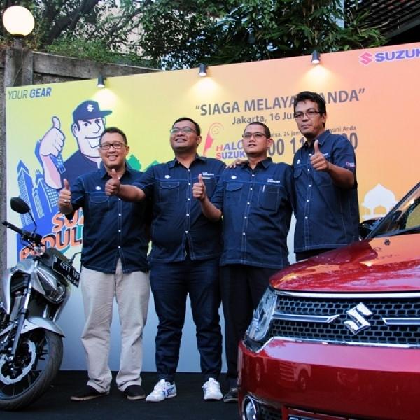 Suzuki Mudik Assistance Temani Mudik Pengguna Suzuki