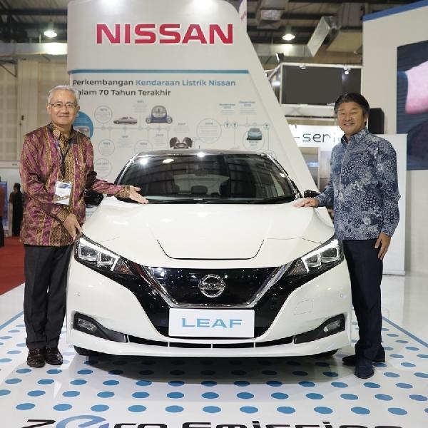 Nissan Bawa 2 Mobil Listrik di IEMS 2019