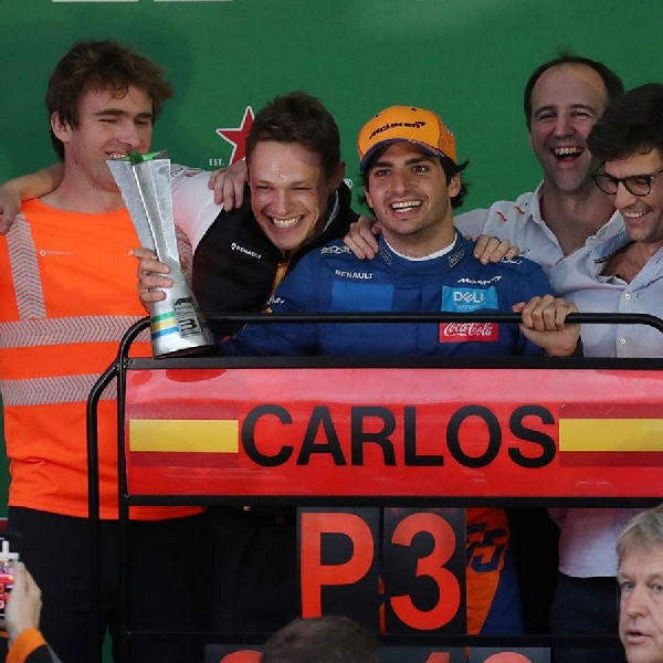 F1: GP Brasil, Balapan Terbaik Bagi Carlos Sainz
