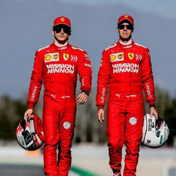 F1: Charles Leclerc Beri Penghormatan Pada Sebastian Vettel