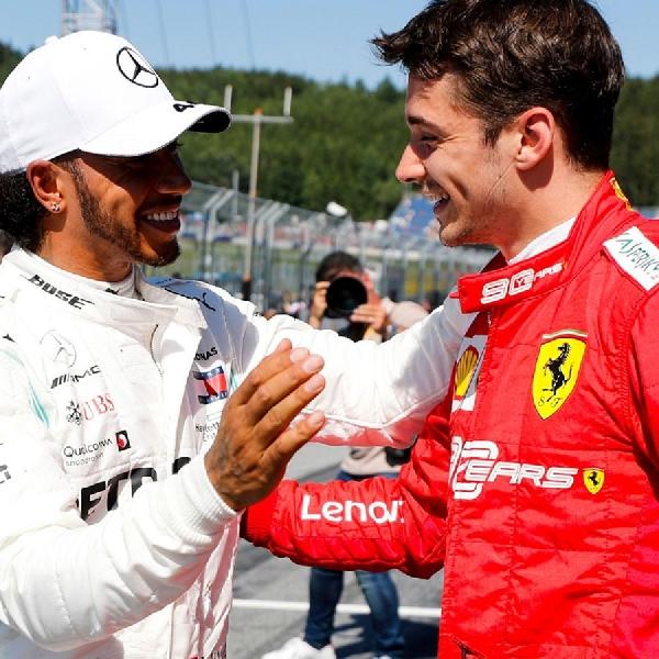 F1: Charles Leclerc Sambut Kemungkinan Hamilton di Ferrari