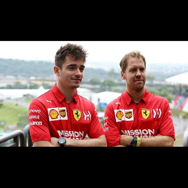 F1: Charles Leclerc Banyak Belajar Dari Vettel